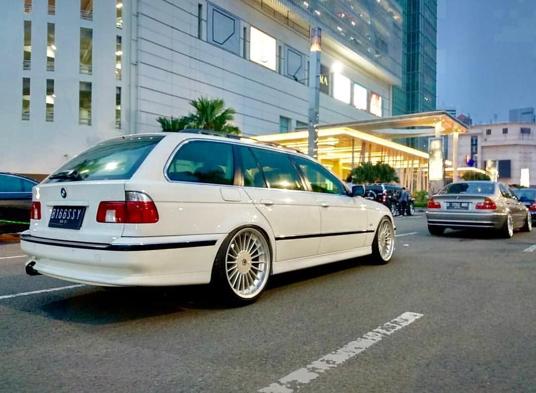 Bmw E39 Touring On Alpina Wheels With Images Bmw Touring Bmw