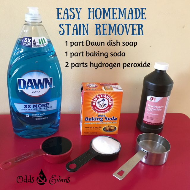 Easy Homemade Stain Remover (How To Get Stains Out of