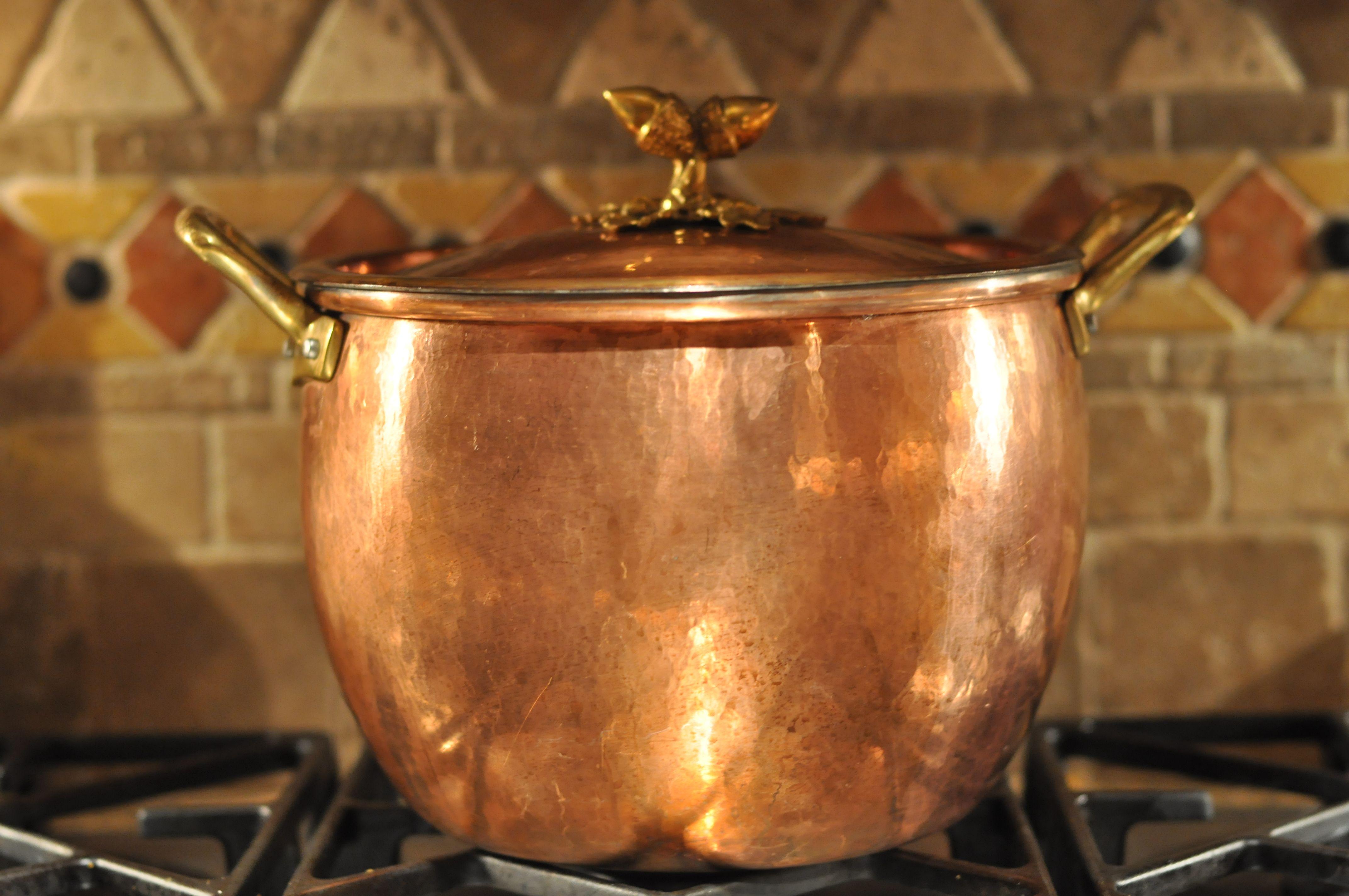Italian copper pot | KITCHEN TOOLS STYLE | Pinterest | Cobre ...