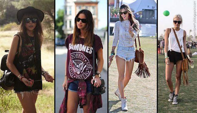 I want pretty: LIFESTYLE/LOOK-¡Looks y tips para festivales y conciertos!