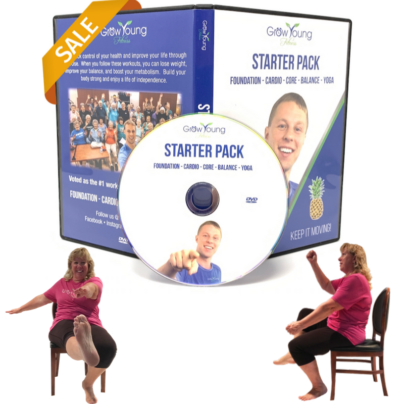 Starter Pack Exercise DVD Grow Young Fitness Exercise
