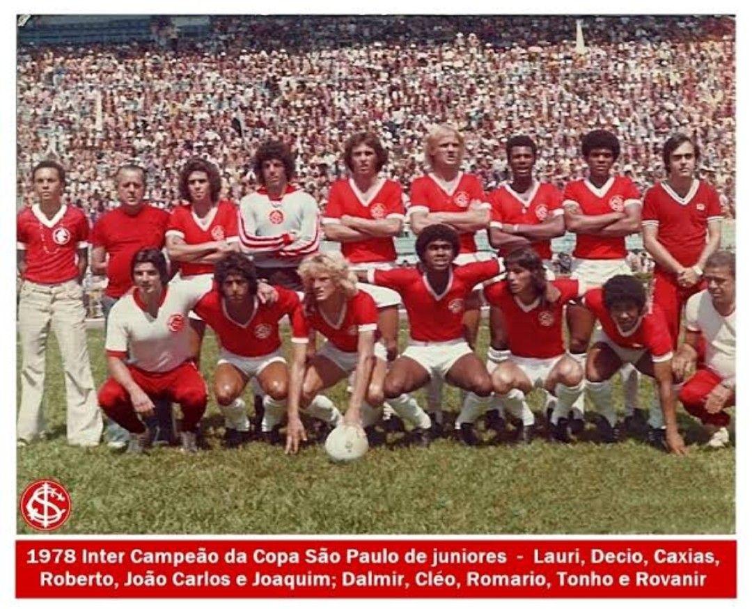 Inter Campeao Da Copa Sao Paulo De Juniores De 1978 Estadio Centenario Sport Clube Internacional Atletico Mg