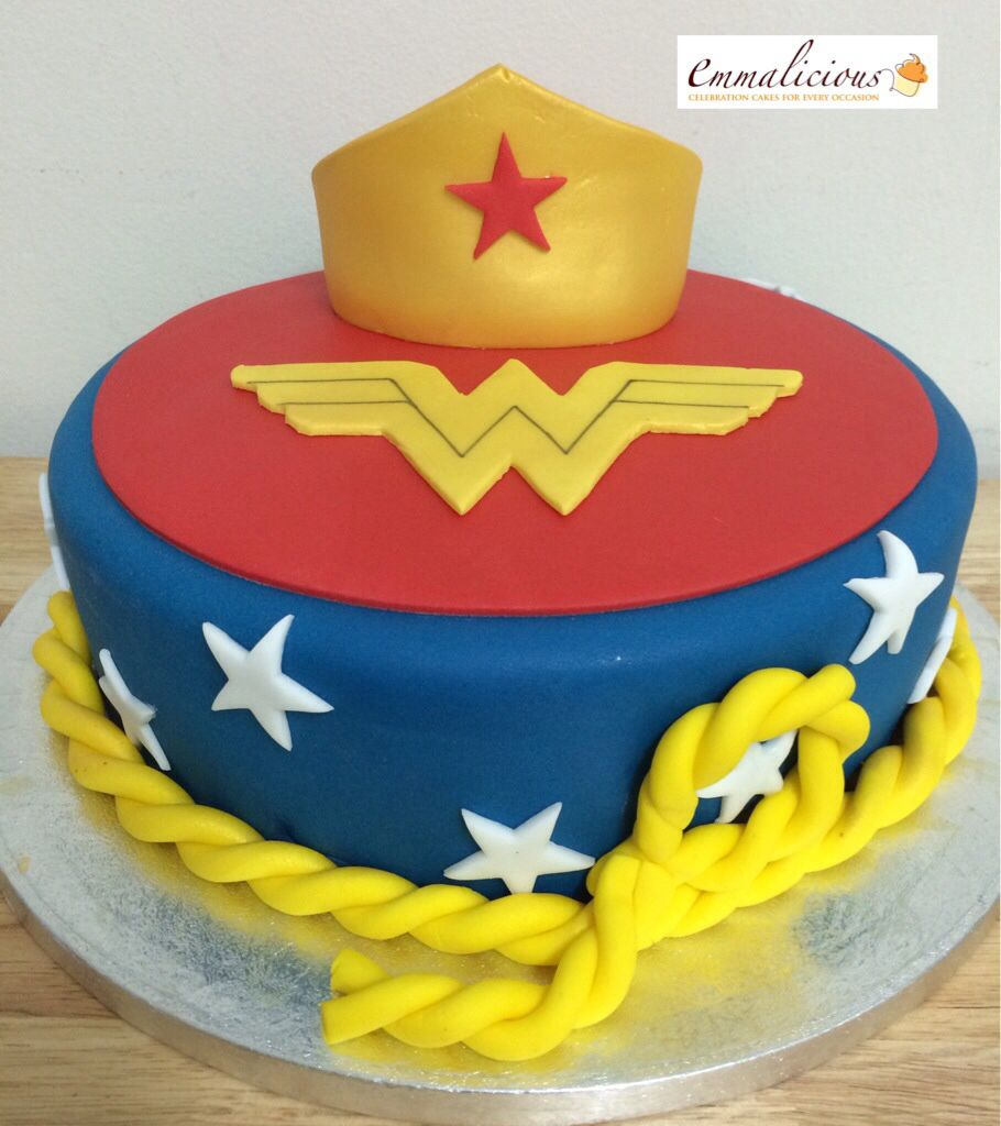 Wonder woman cake for all your cake decorating supplies