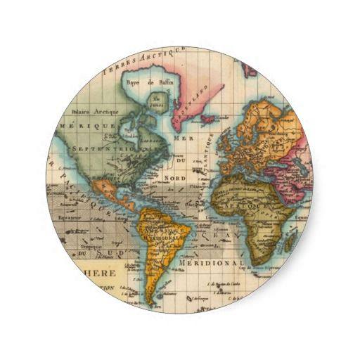 Old World Map Background Cougars In Casablanca Pinterest Wedding - Round world map image