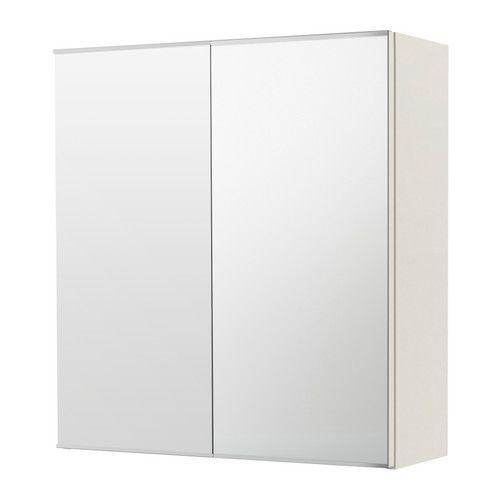 LILLÅNGEN Spiegelkast met 2 deuren, wit | Pinterest - Ikea, Deuren ...
