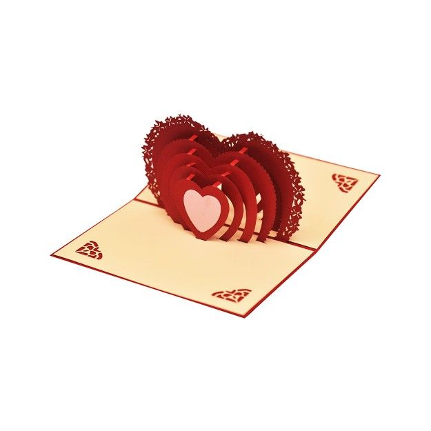 heart pop up card  heart pop up card heart cards gifts