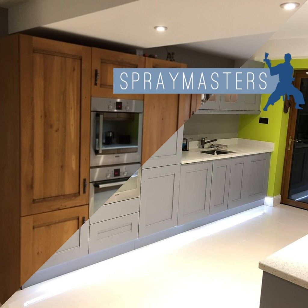 New Kitchen Or Spray Your Existing One In 2020 Kitchen Cabinets Uk Painting Kitchen Cabinets Kitchen Cabinets Before And After