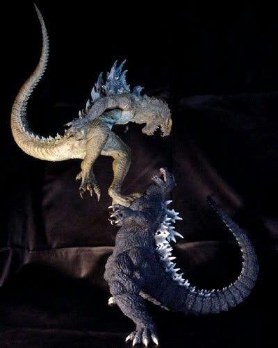 98 Vs Classic Godzilla Vs Godzilla Kaiju