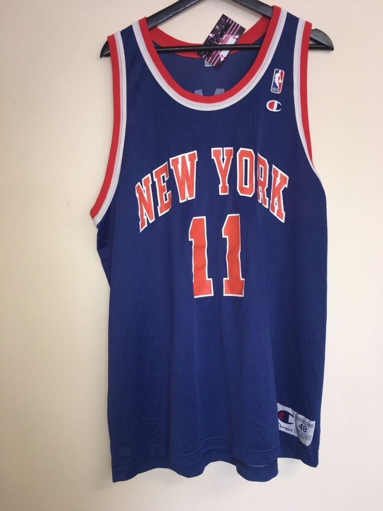 Vintage Champion NBA New York Knicks Ron Harper Jersey RARE  a156527b4