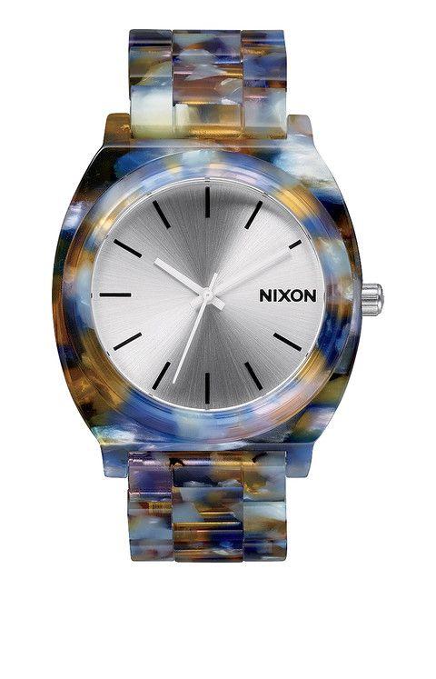 Precioso reloj de acetato Nixon - Time Teller Acetate - Watercolor Acetate | Nixon