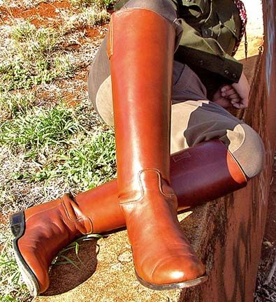 TEXAS A&M CORPS OF CADETS SENIOR BOOTS HAND-CRAFTED BY R CUSTOM! JUL. '17.