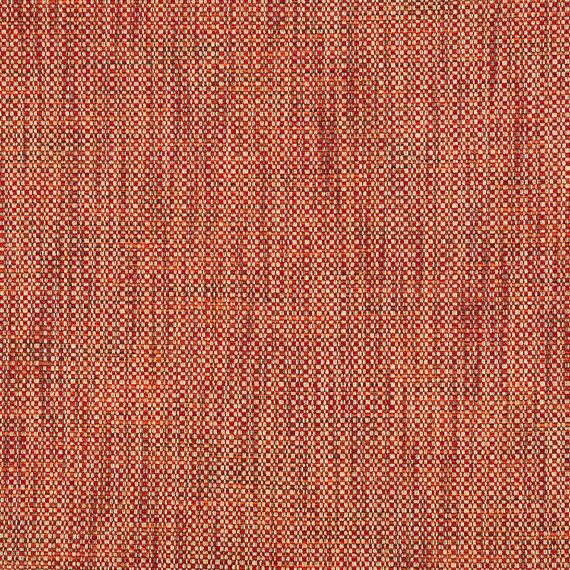 Red Orange Tweed Upholstery Fabric Woven Textured Furniture Ottoman Fabrics Pillows