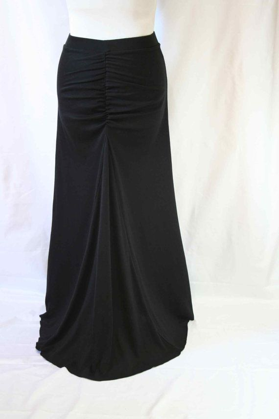 cab1746fb0 Ruched mermaid skirt by Beauje on Etsy, $70.00