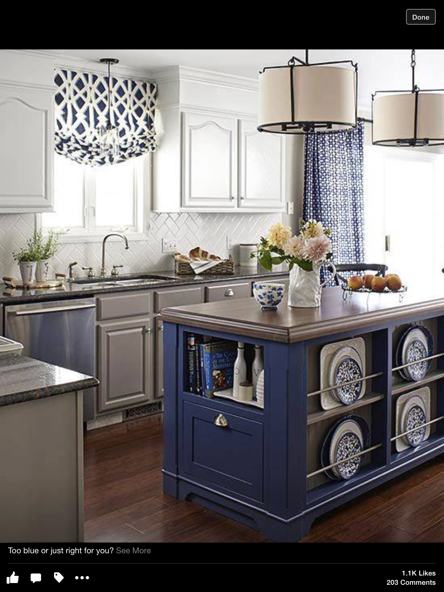 A Kitchen Island Is Comparable To A Great Piece Of Furniture. So Why Not  Give It A Splash Of Color? These Colorful Kitchen Islands Offer Stunning  Work Space ...