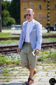 STYLE DU MONDE / Milan Men's SS16 Street Style: Nick Wooster  // #Fashion, #FashionBlog, #FashionBlogger, #Ootd, #OutfitOfTheDay, #StreetStyle, #Style