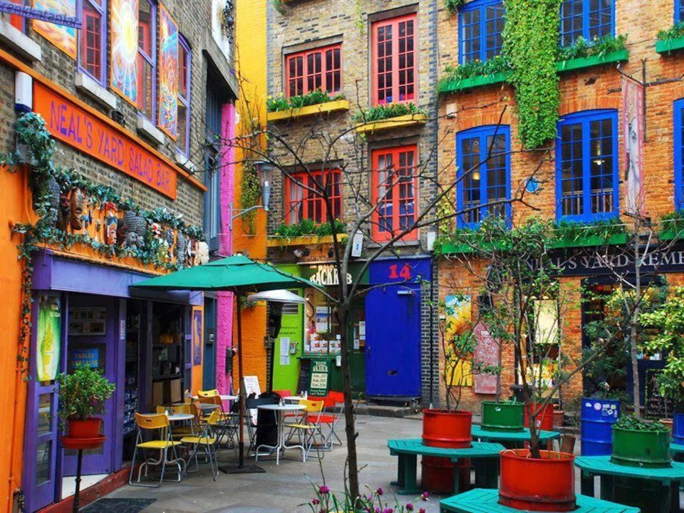 Neal's Yard, Salad Bar, Covent Garden, London