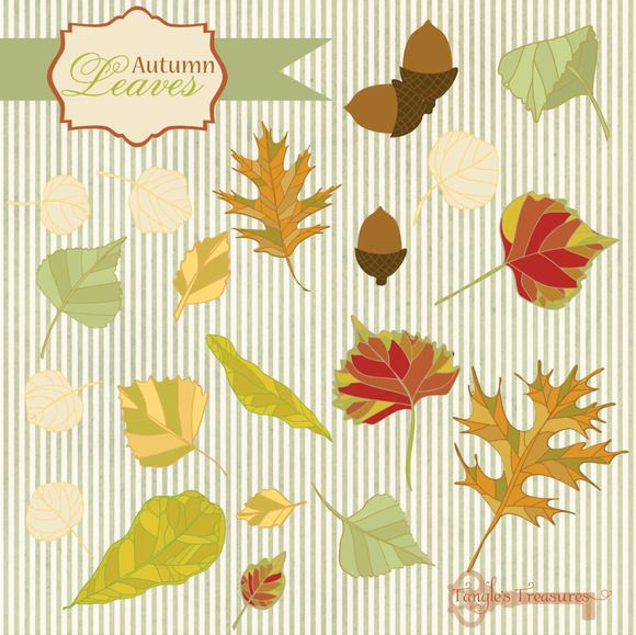 Autumn Leaves by Tangle's Treasures http://crtv.mk/rMgY