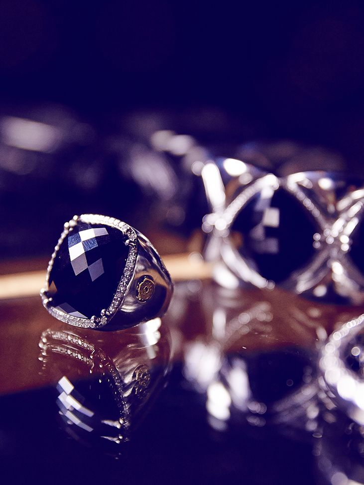 Tacori's Black Onyx Collection available at Miami Lakes Jewelers. #MiamiLakesJewelers #Tacorigirl @miamilakesjewelers