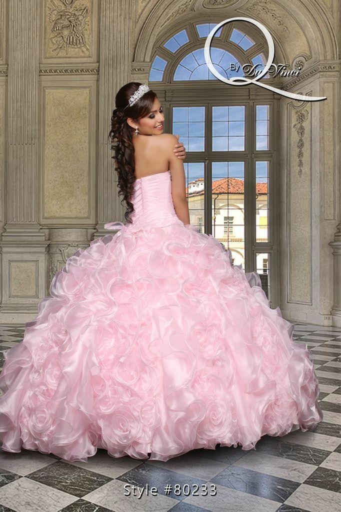 Hermoso y delicado vestido, Q by Davinci style 80233 Elegant Organza ...