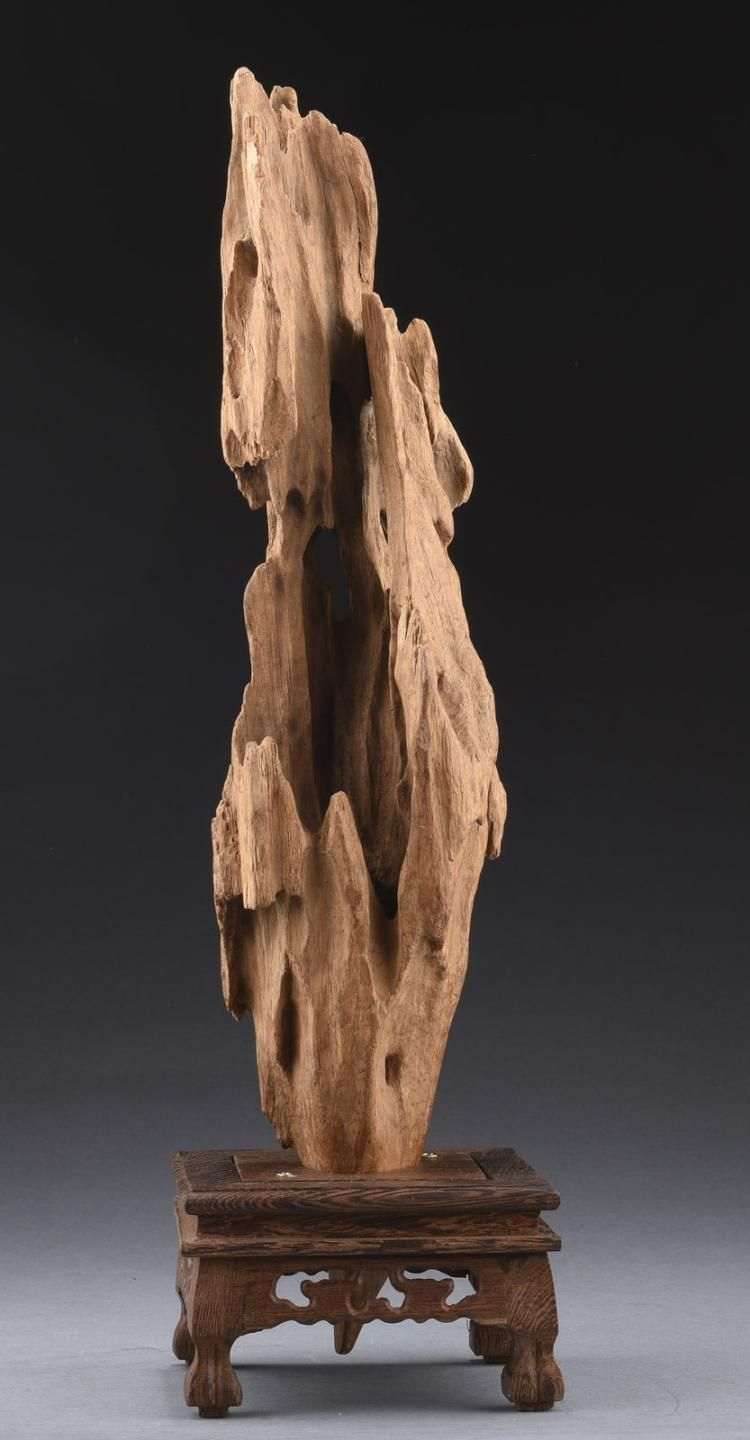 Agarwood Carving With Stand Driftwood Sculpture Driftwood Art Wood Sculpture Art