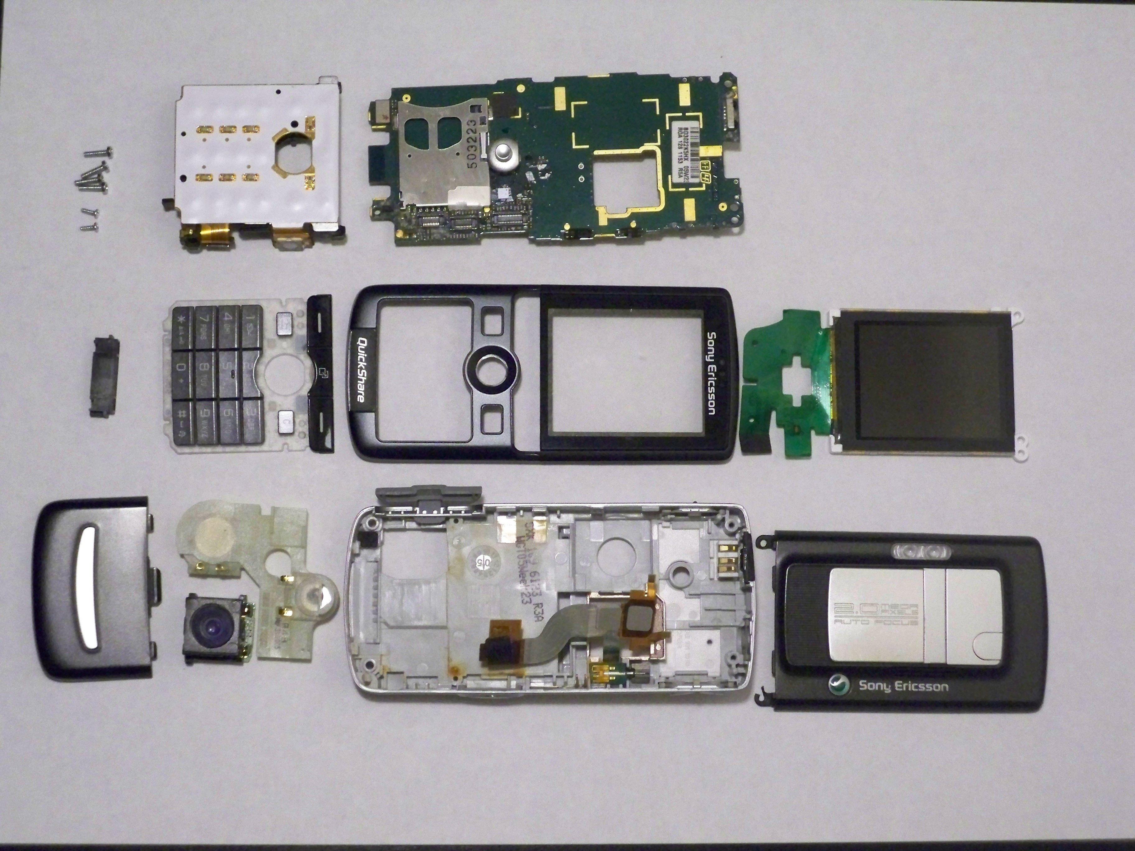 Sony Ericsson K750i Repair Sony Ifixit Repair