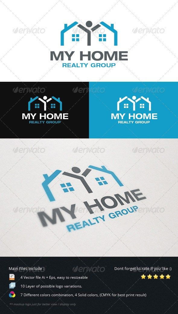 This Logo Is Perfect For Real Estate Business Mortgage Agent Any