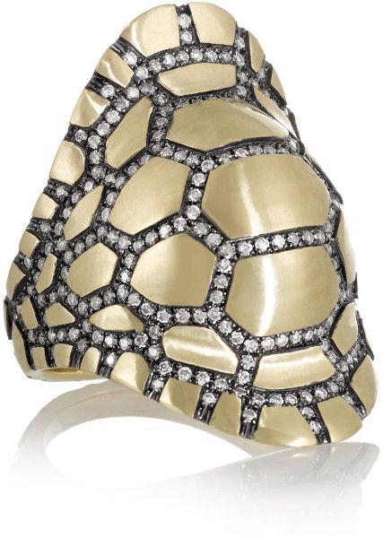 ring Venyx - by London based designer Eugenie Niarchos