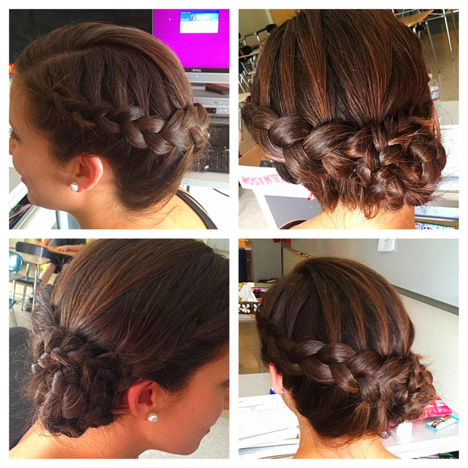 mohawk hair styles wedding updo katniss braid braid bun pretty 1664