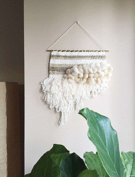 Weaving / Woven Wall Hanging by MelissaJenkinsDsgns on etsy #mjdweavings