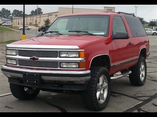 1997 Chevy Tahoe 4x4 For Sale 1997 Chevy Tahoe Four Wheel Drive Brand New Four Inch Rcx Suspension Lift Brand New 33x Chevy Tahoe Lifted Chevy Trucks Chevy
