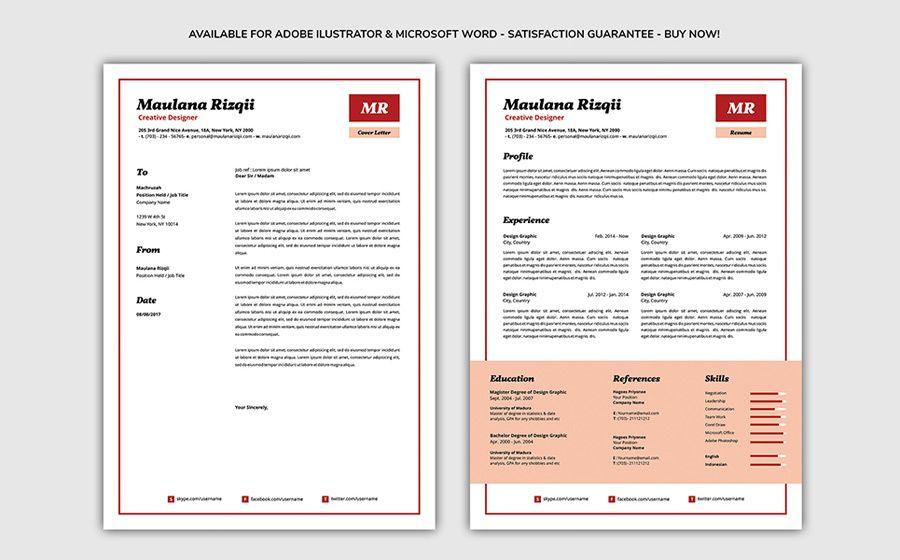 40 Best 2020's Creative Resume/CV Templates Printable