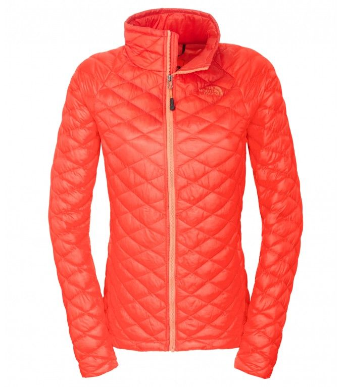 The North Face Damen Thermoball Jacke Tomato Red | Hiking