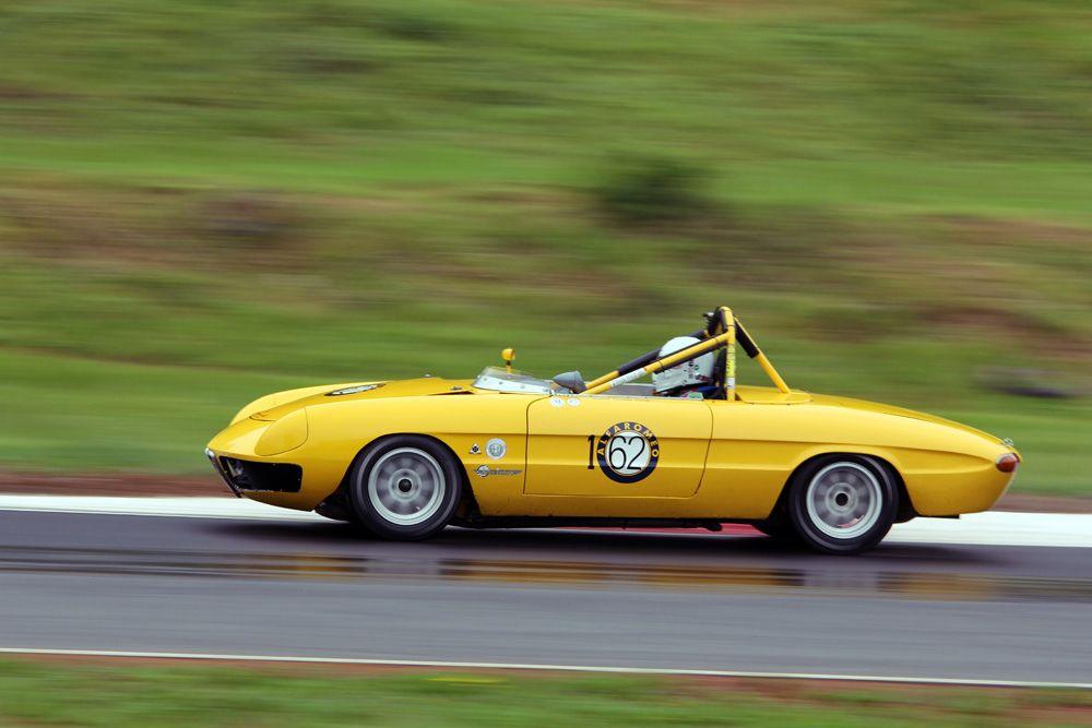 https://flic.kr/p/9KmTvs | 1967 Alfa Romeo Duetto | 1967 Alfa Romeo Duetto racing in Group #3 at the 2011 Jefferson 500.