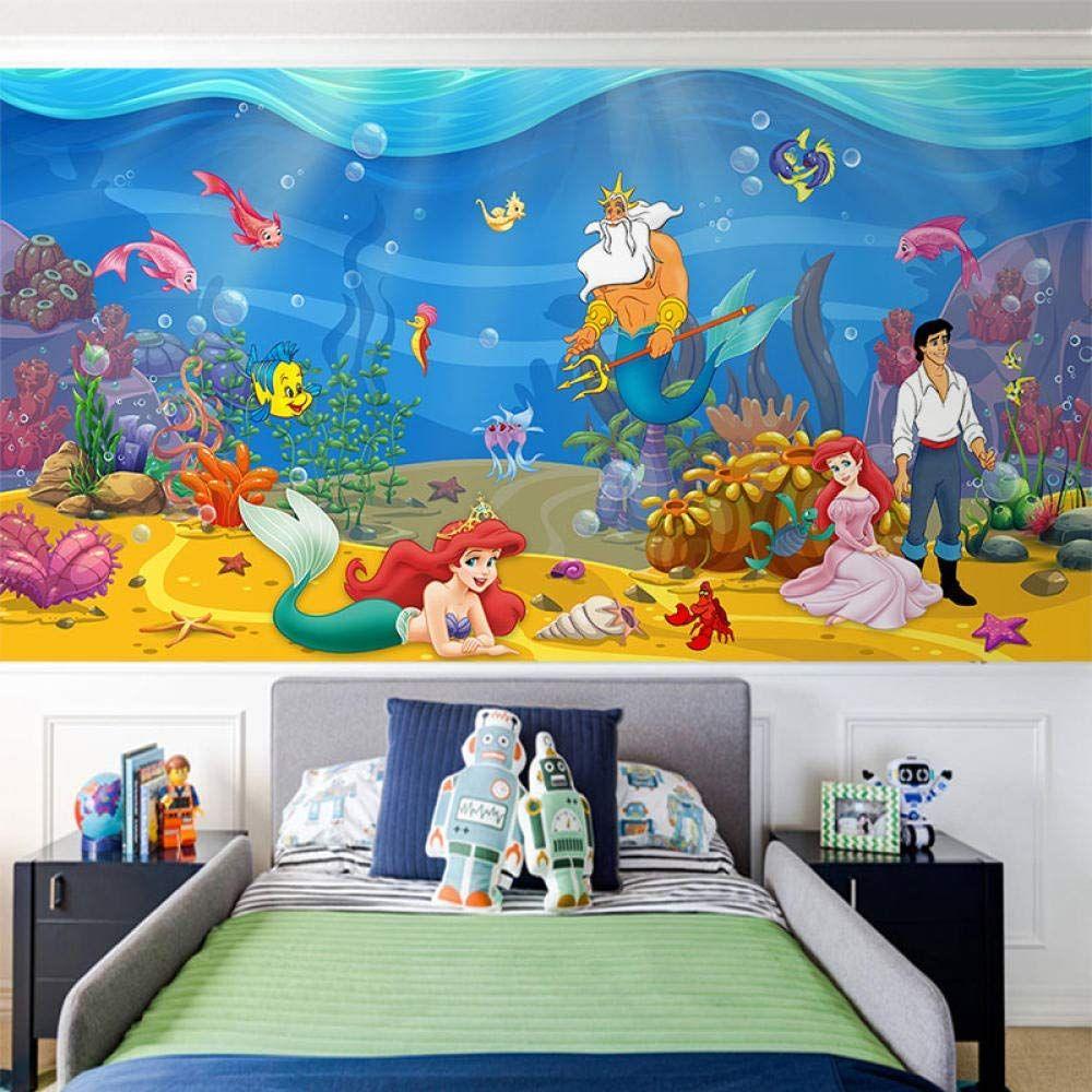 Mural Autoadhesivo Ariel Decoracion Habitacion Nino Decoracion De Unas Vinilos