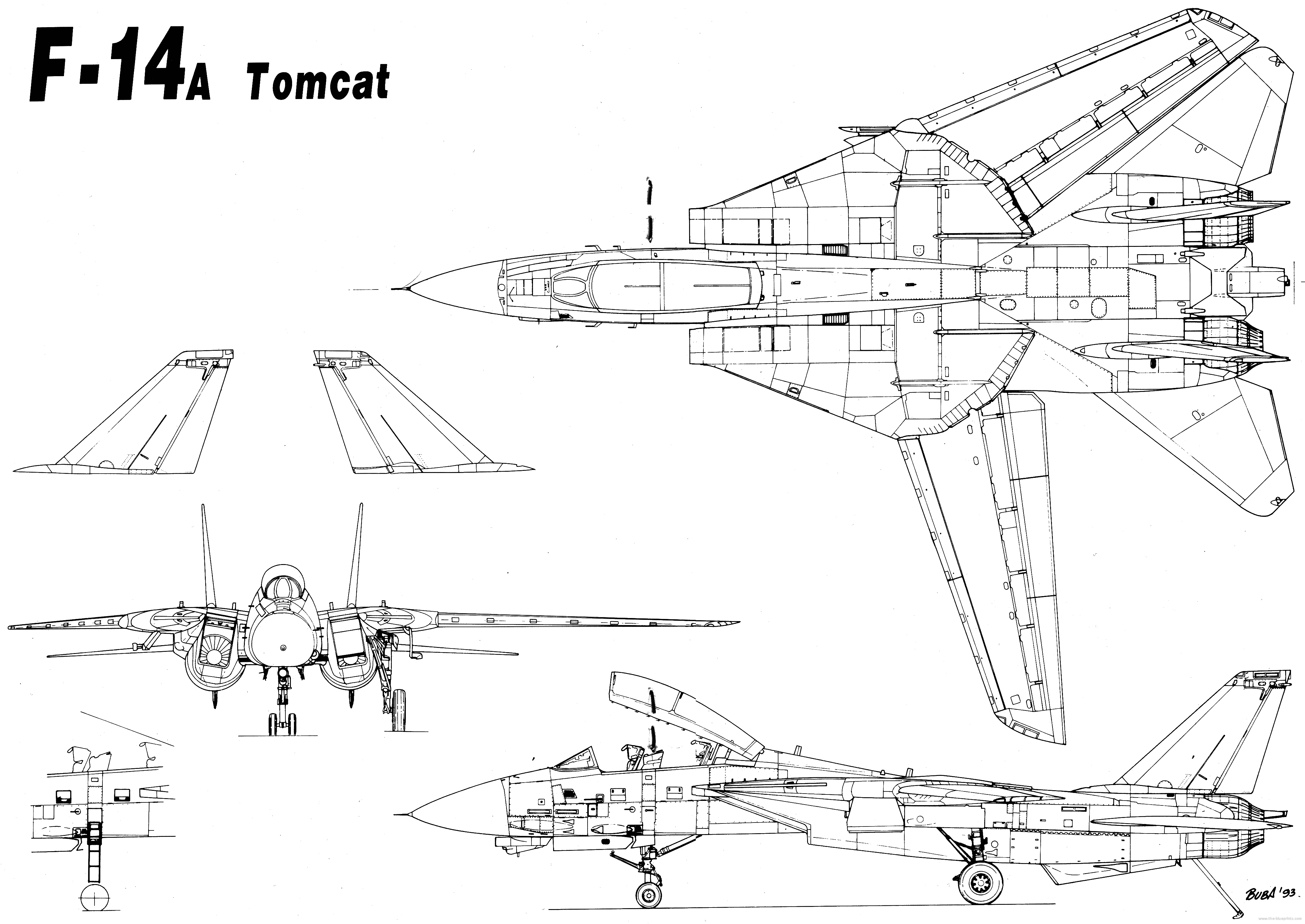 Grumman f 14 tomcat jets and planes pinterest aircraft grumman f 14 tomcat malvernweather Choice Image