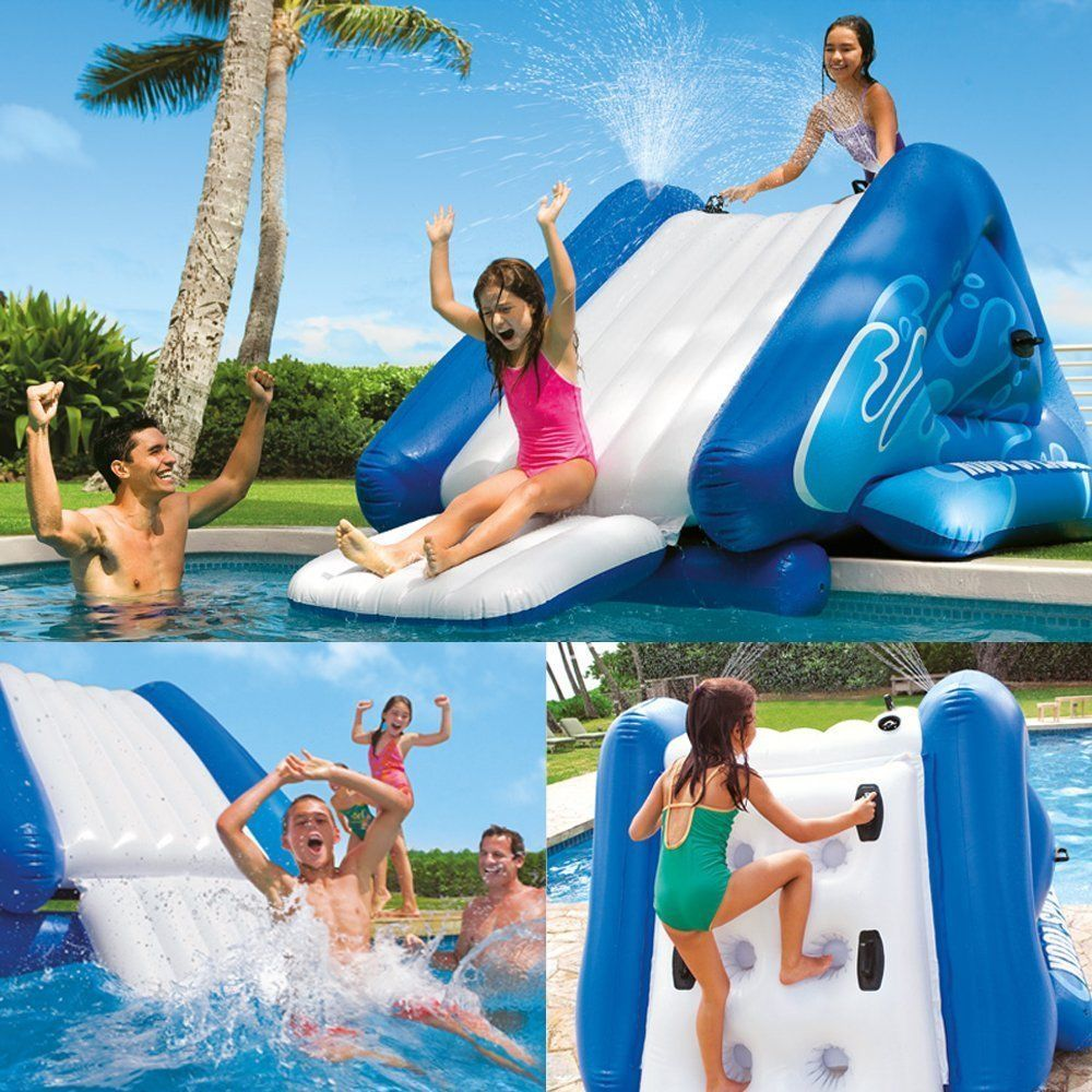 Details About Inflatable Play Center Swimming Pool Jungle