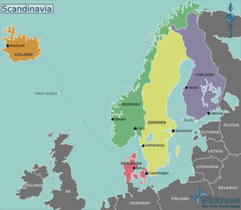 Scandinavia Wikitravel Scandinavia Travel Scandinavia Nordic Countries