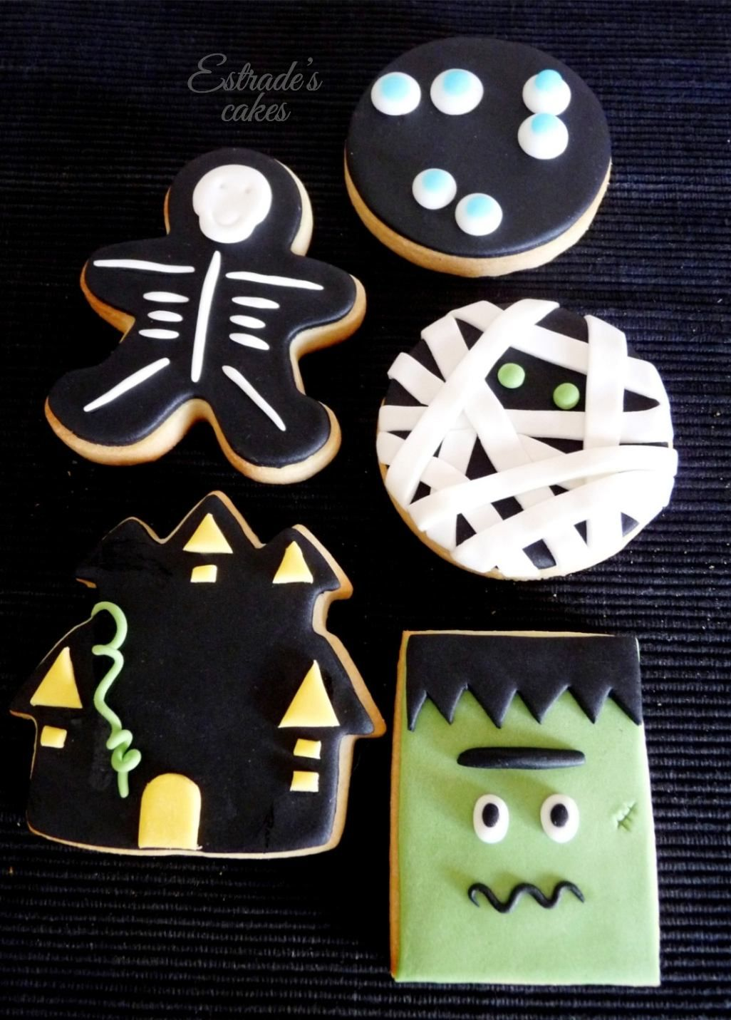 Galletas Decoradas Hallowen Estrade 39s Cakes Galletas De Halloween Con Fondant
