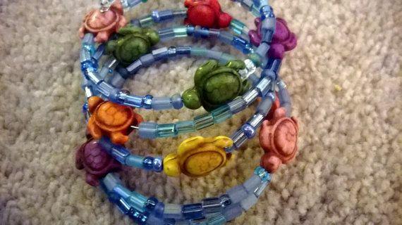 Hayden Bracelet  Memory Wire Bracelet in Blue by luckyblacksheep, $13.00