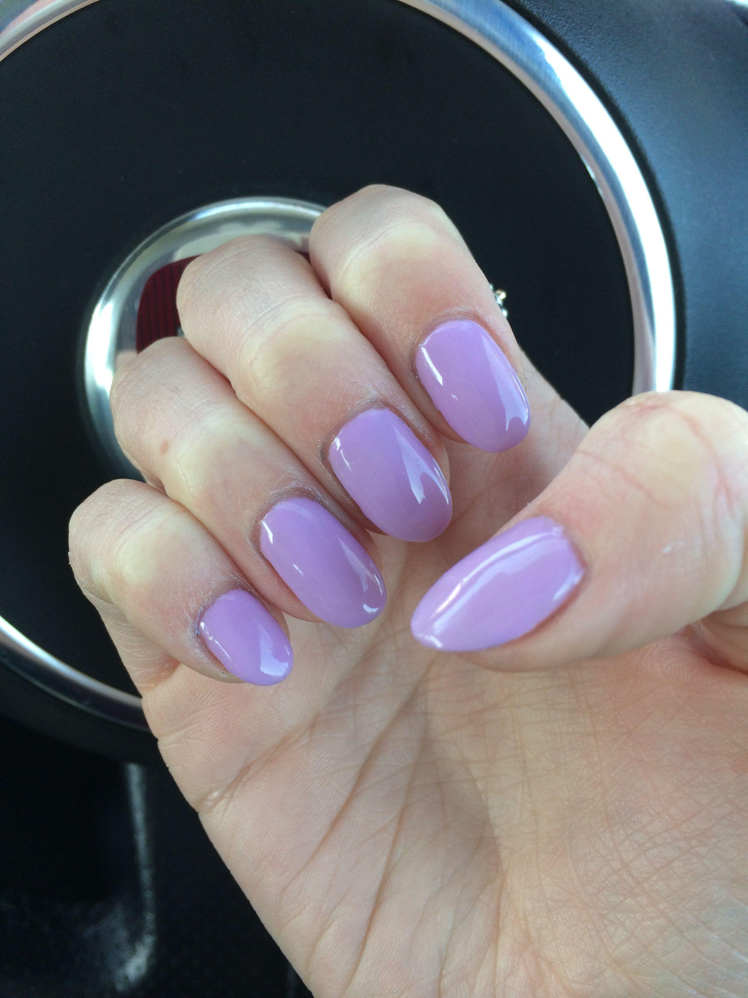 Pastel lilac purple nail art gelish girly spring   Do it ...