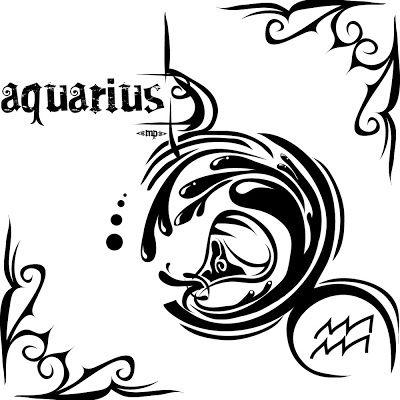Acuario Tatuaje Tatuaje De Acuario Signo Acuario Hombre Signo