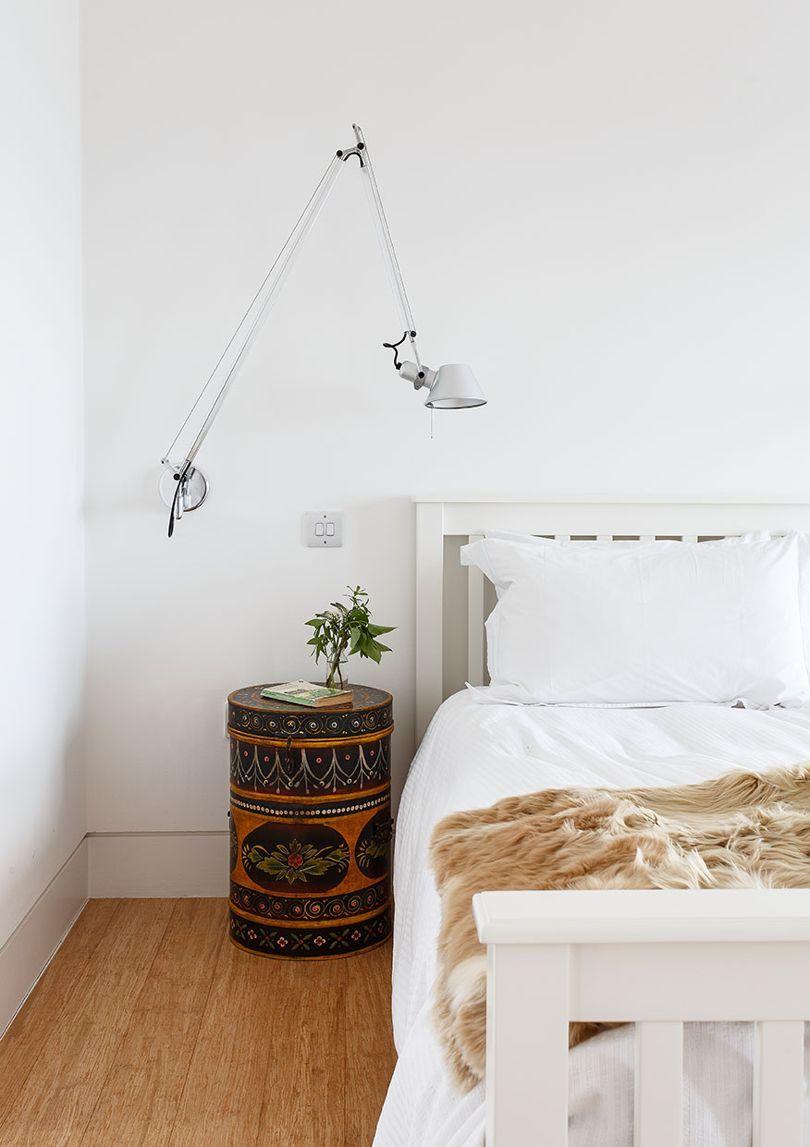 A sleek modern coastal house in fife arranging bedroom