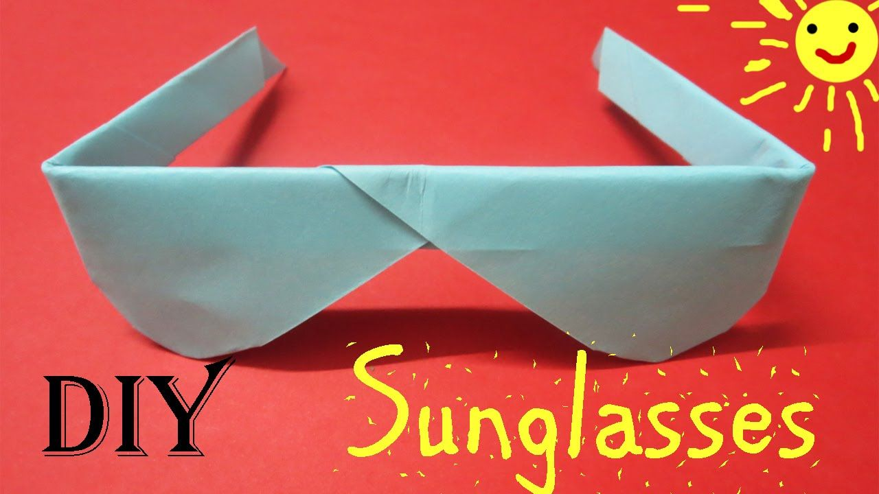How to make origami paper sunglasses easy step by step origami how to make origami paper sunglasses easy step by step origami sunglasses jeuxipadfo Image collections