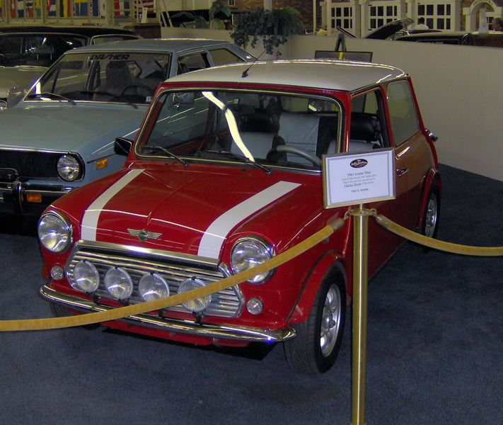 1963 Austin Mini Cooper From The Italian Job Movie Cars Classic