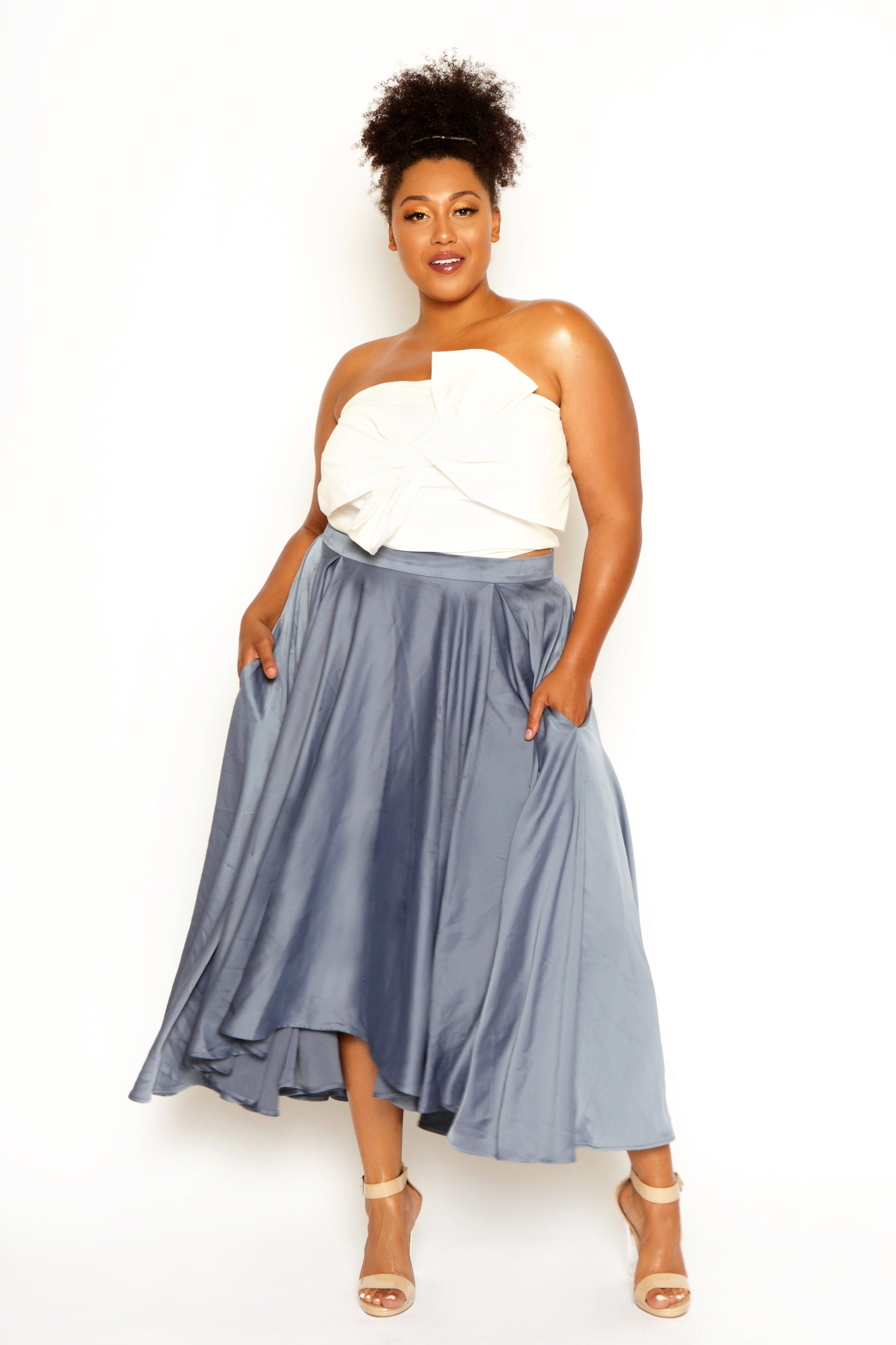 9b835a904d5d7 Meteor Maxi Skirt