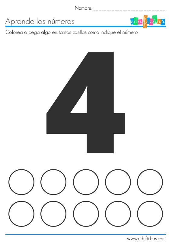 Fichas De Números Con Pegatinas Material Educativo Para Niños Fichas Juegos De Matemáticas Preescolares Actividades Divertidas De Matemáticas