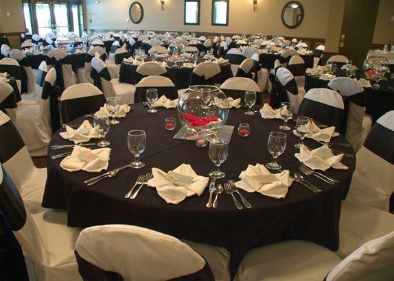 It S All A Matter Of Measurements Wedding Tablecloths Black