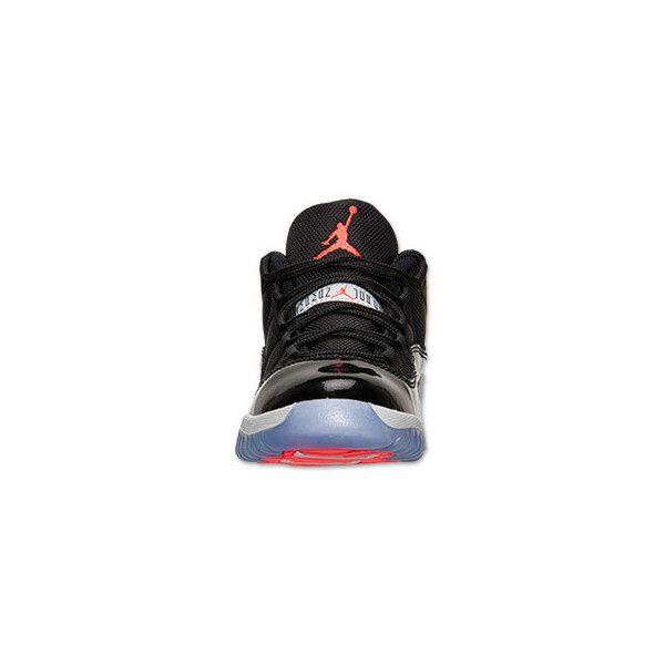 reputable site d81f2 1df79 ... Boys Preschool Air Jordan Retro 11 Low Basketball Shoes ( 75) ❤ liked  on ...