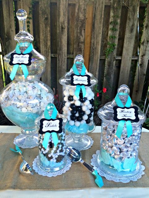 Rustic Black White Tiffany Blue Wedding Via Kara S Party Ideas