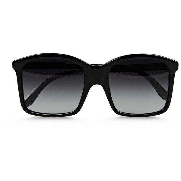 9c091fb3c0121 Stella Mccartney Square Sunglasses ( 175) ❤ liked on Polyvore featuring  accessories